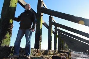 Luke McEwen the groynes at Littlehampton