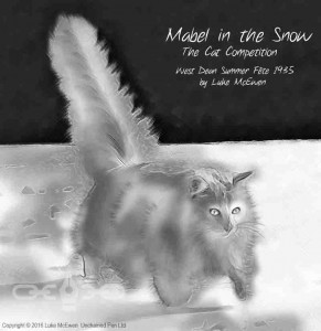 No. 13 - Mabel in the Snow - The Cat Competition - West Dean Summer Fete 1935 by Luke McEwen