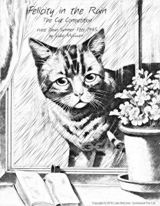 No. 20 - Felcity in the Rain - The Cat Competition - West Dean Summer Fete 1935 by Luke McEwen