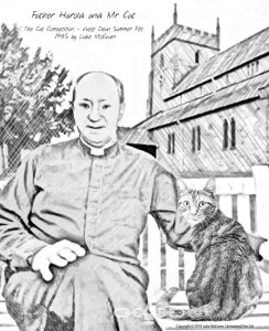 No. 25 - Father Harold and Mr Cat - The Cat Competition - West Dean Summer Fete 1935 by Luke McEwen
