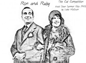 No. 30 - Ron and Ruby - The Cat Competition - West Dean Summer Fete 1935 by Luke McEwen