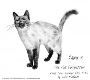 No. 41 - Eejay - The Cat Competition - West Dean Summer Fete 1935 by Luke McEwen