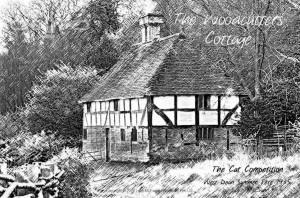 No. 7 - The Woodcutters Cottage - The Cat Competition - West Dean Summer Fete 1935 by Luke McEwen