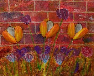 Tulips from The Shells and Driftwood Retasked collection by Luke McEwen