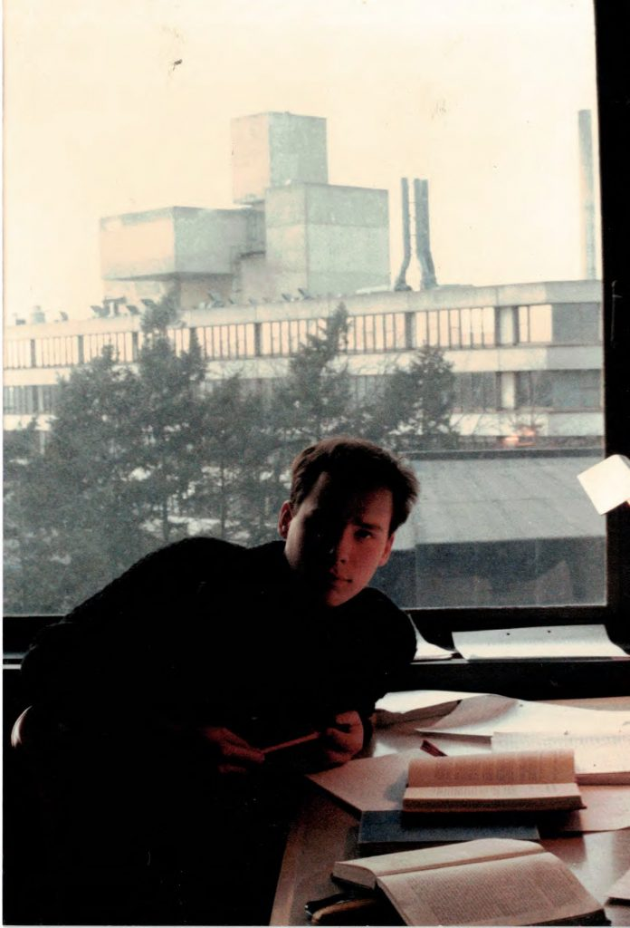 Luke University of East Anglia 1986