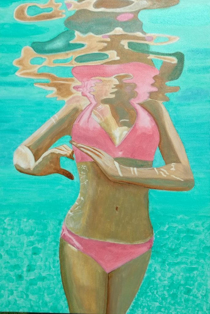 Calypso, Oil on Canvas by Luke McEwen